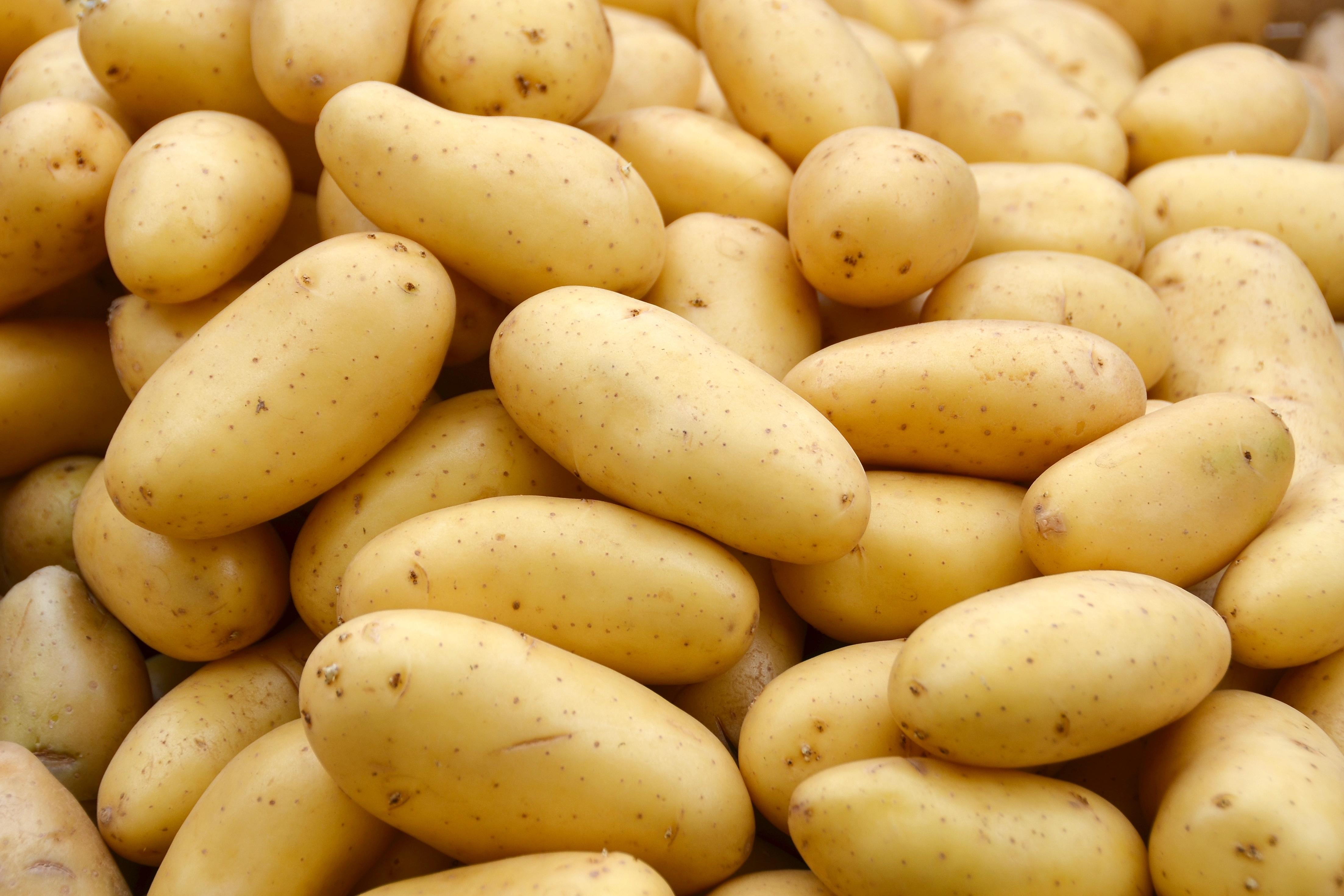 vad innehåller potatis