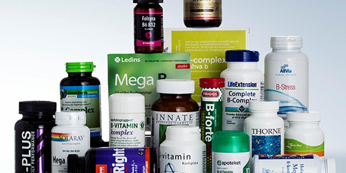 vitaminer och kosttillskott