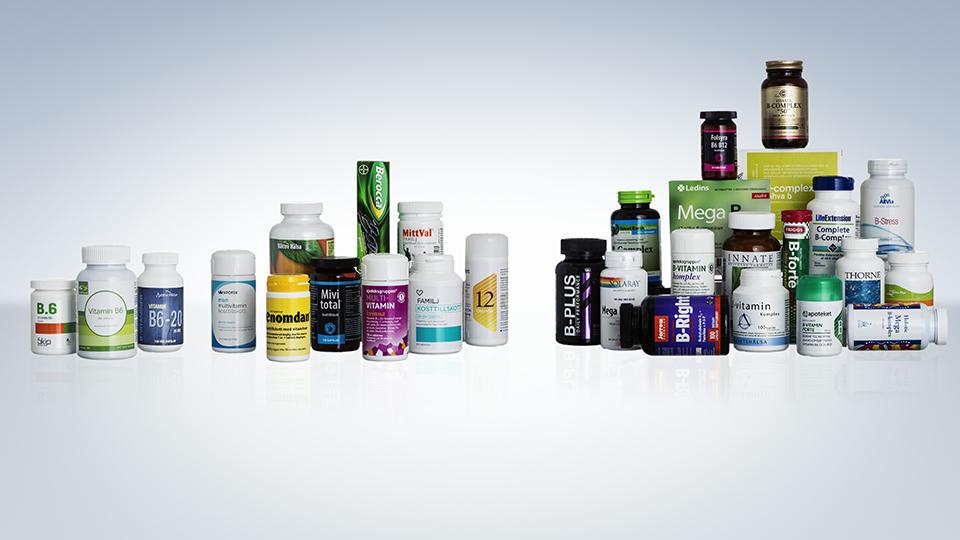 kosttillskott vitaminer