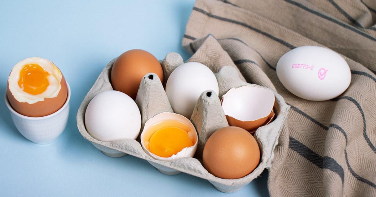 ägg hållbarhet kylskåp