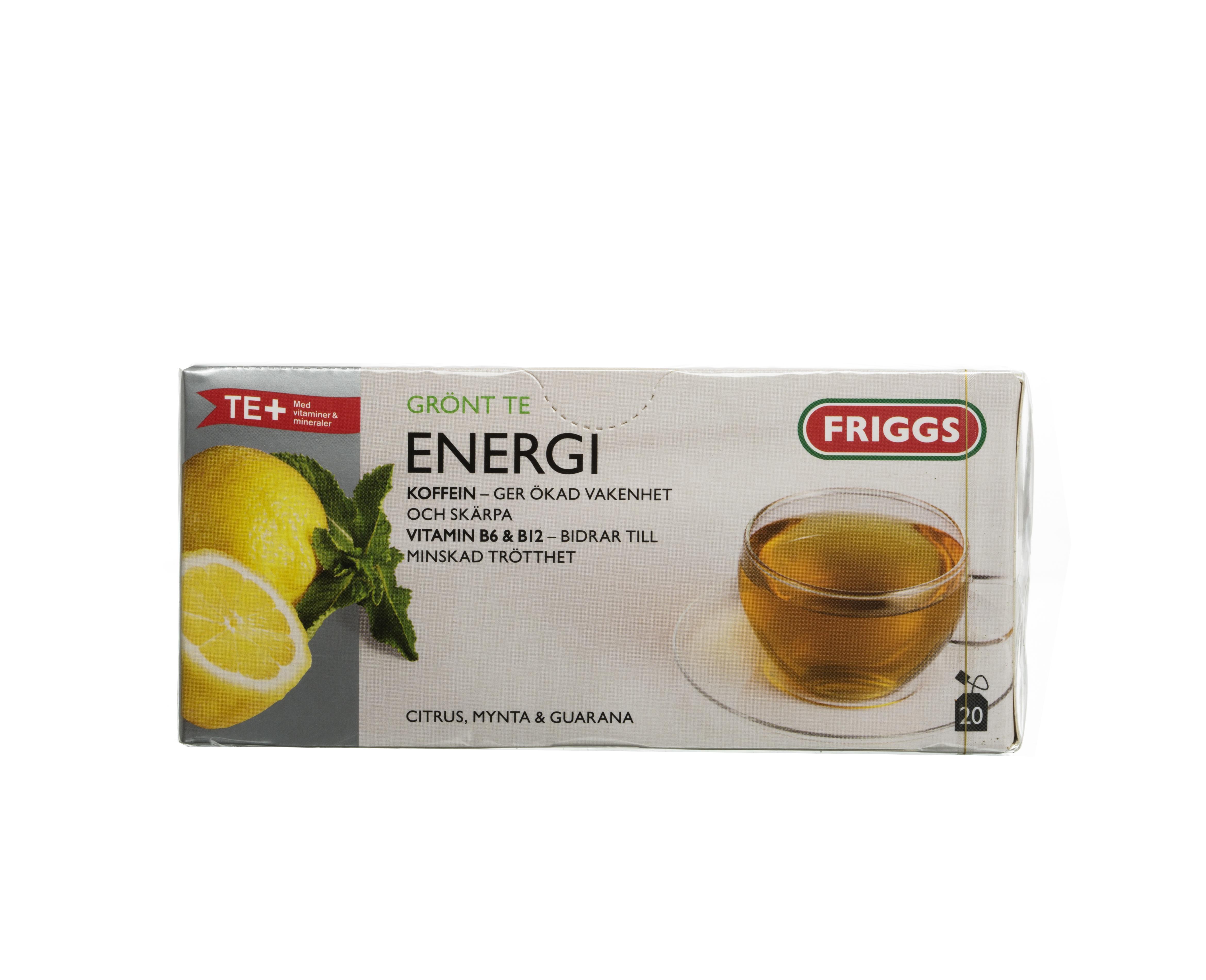 grönt te utan koffein