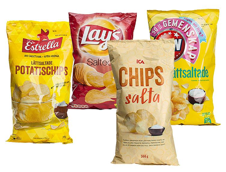 vad innehåller chips
