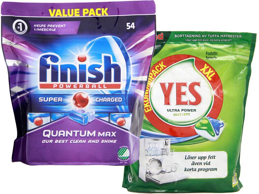 Test av 20 diskmedel - Råd & Rön utser bästa disktabletten : salt diskmaskin : Inredning