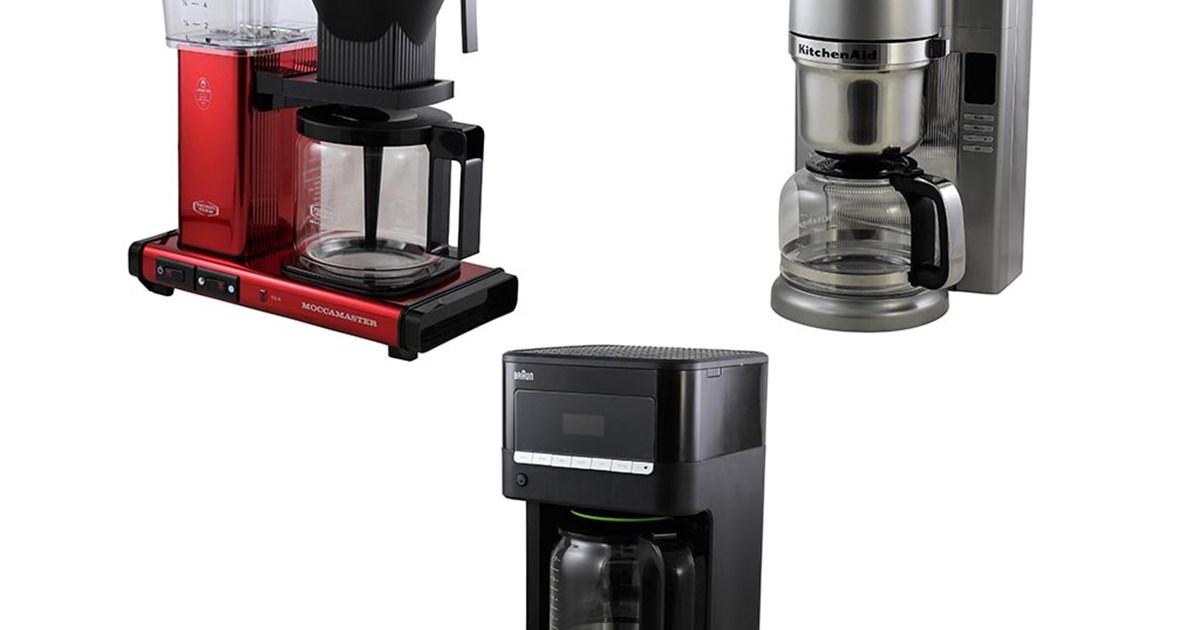 test av kaffebryggare